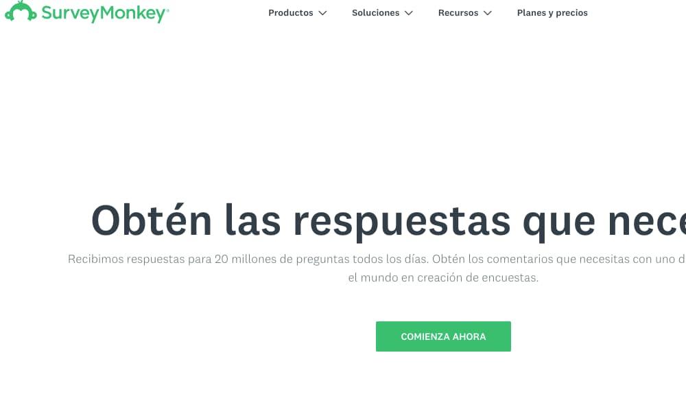 SurveyMonkey para cear buyer persona