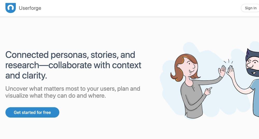 la creacion de buers personas con Userforce