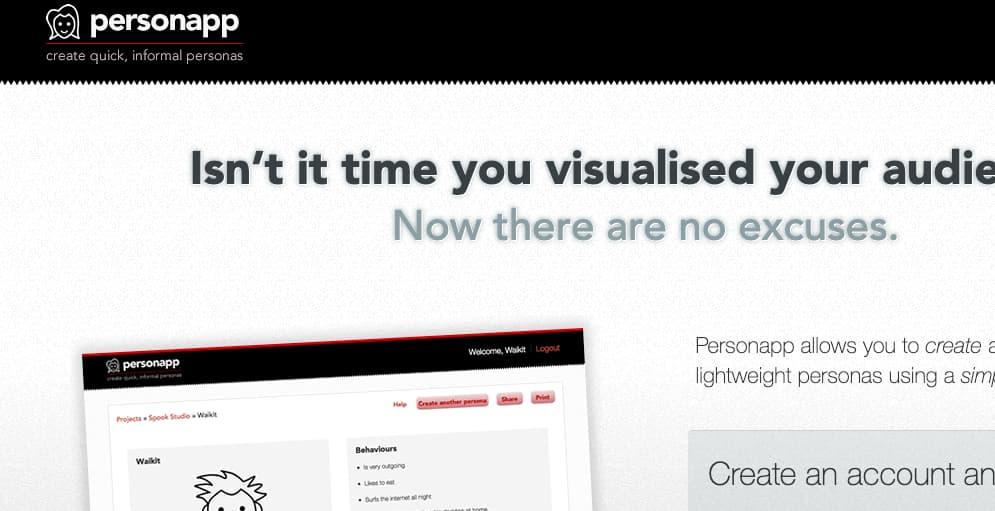 una de las mejores app para crear buyer persona es personaApp